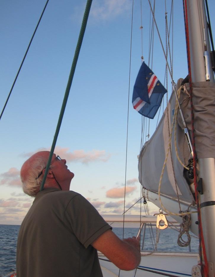 hisser drapeau