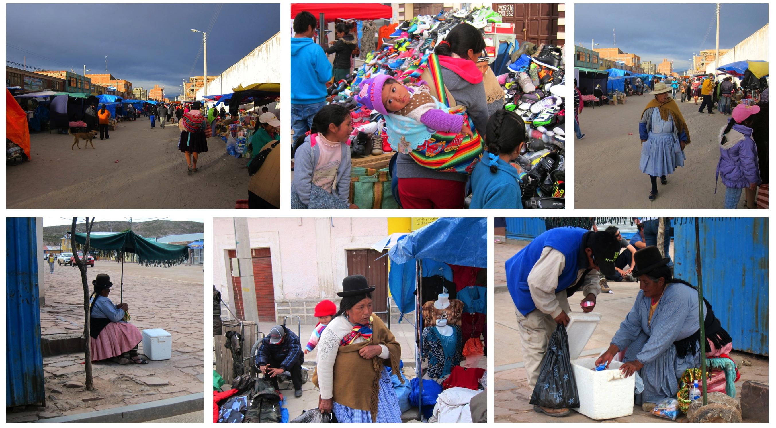 Uyuni - marché