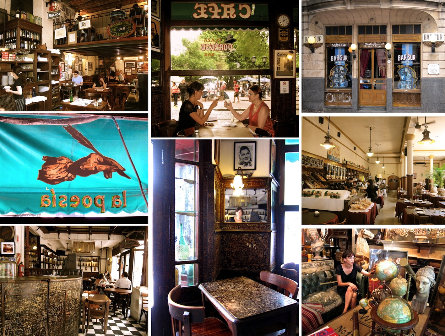 Les cafés du bon vieux temps à Buenos Aires