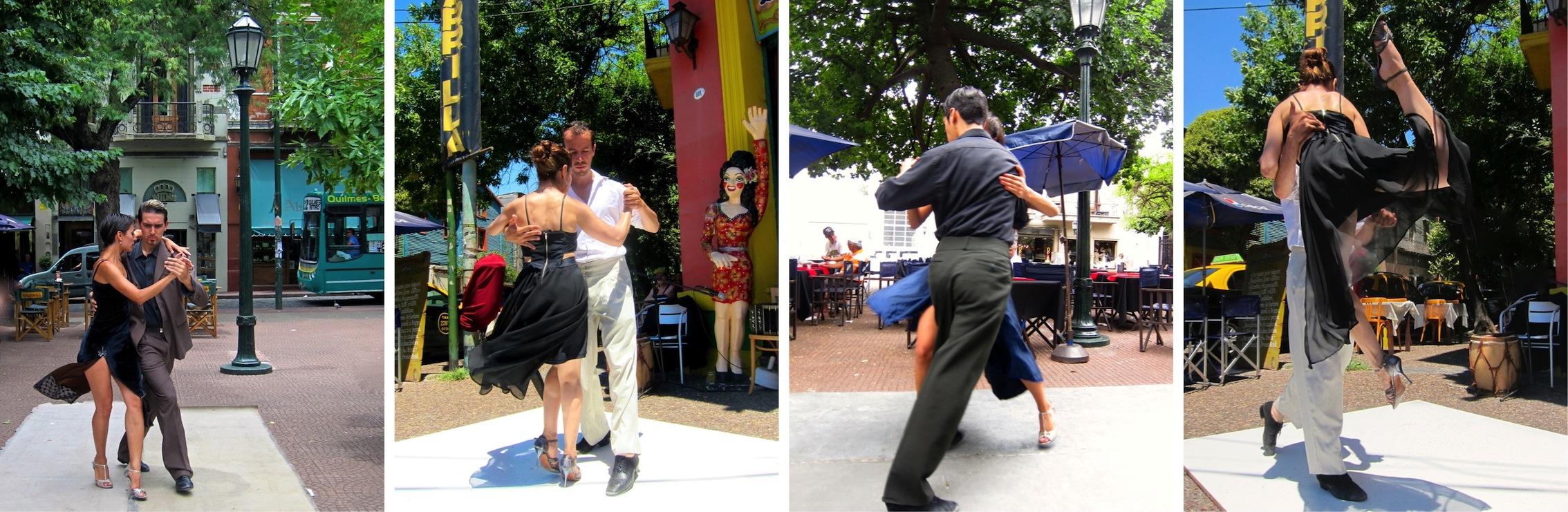 Tango aux coins des rues