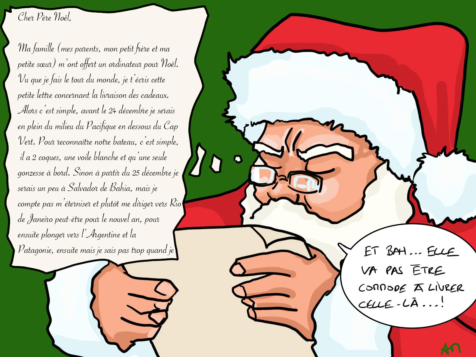 Le Père Noël n'est pas dans la mouise sur ce coup là, tiens...