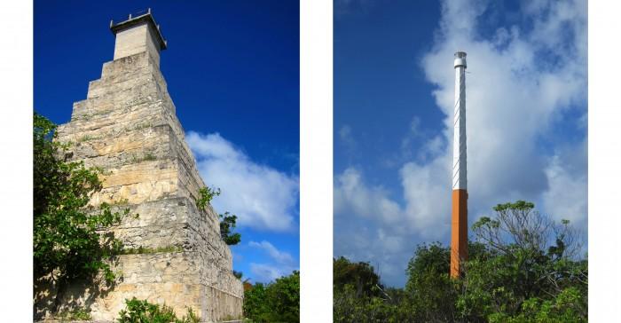 L'absence de phare en fonctionnement. Le magnifique ancien phare, construit par les missionnaires au 19°siècle en soupe de corail va être détruit, car il menace de s'écrouler. Et les batteries solaires du nouveau phare ont été volées et jamais remplacées.