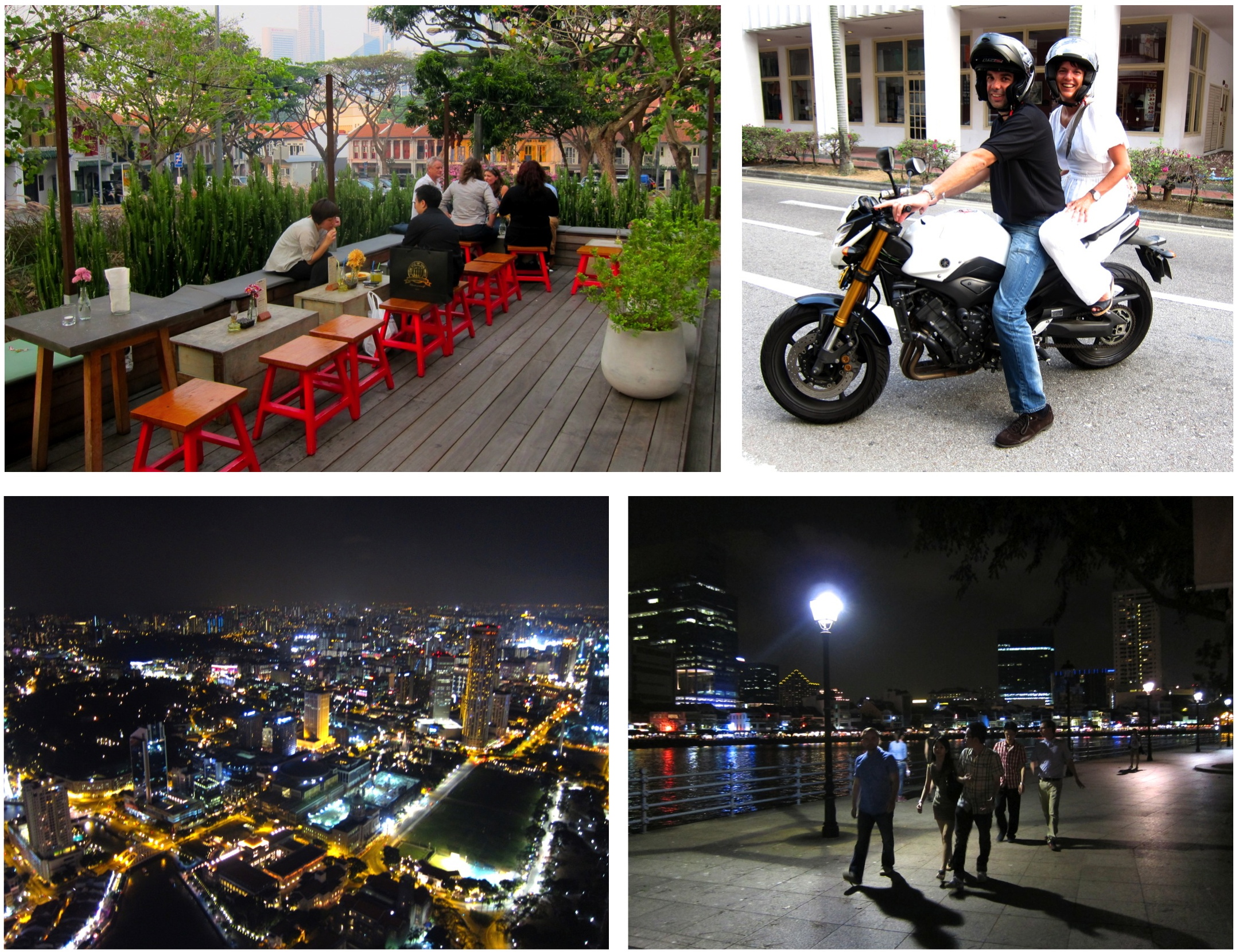 singapour by day by night