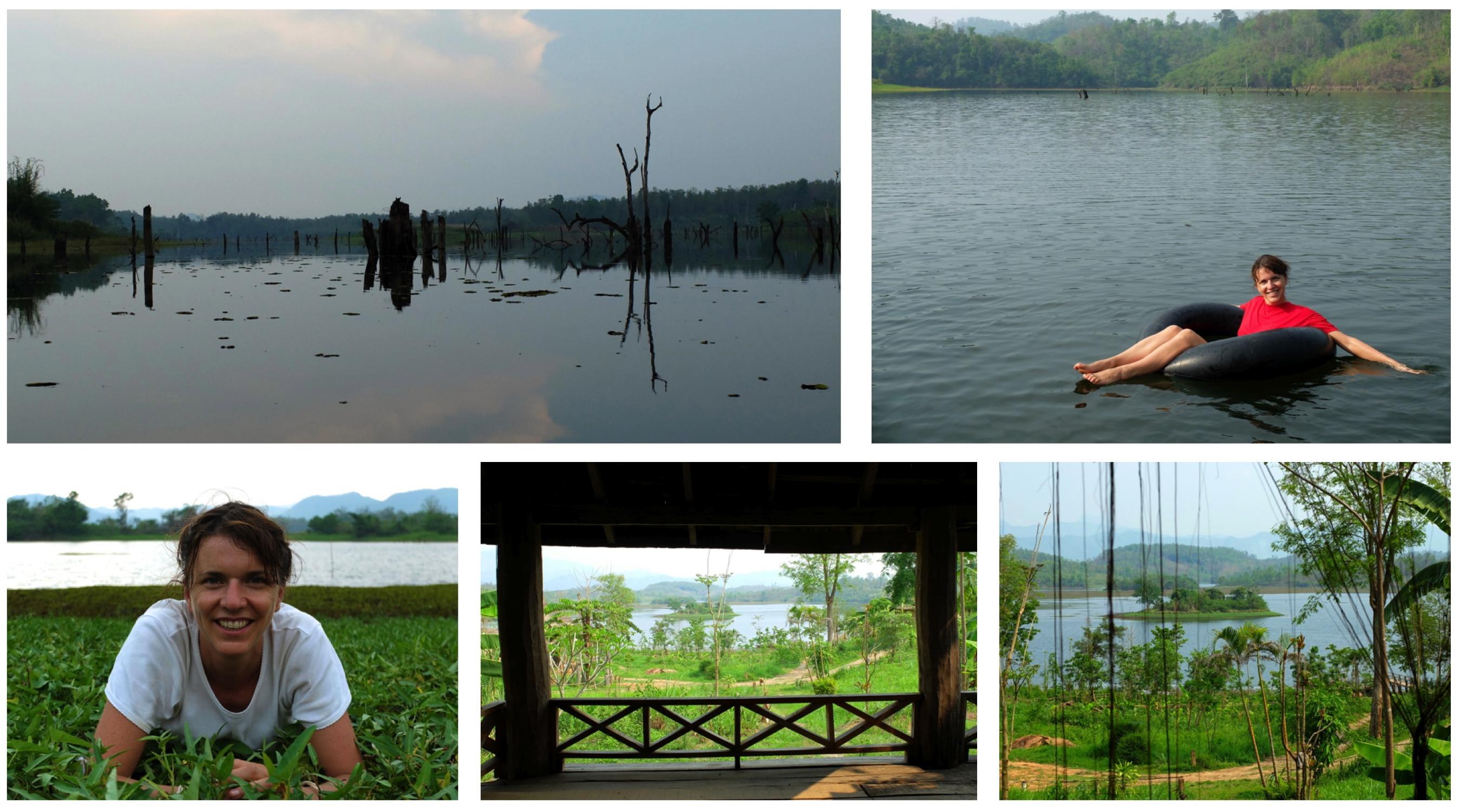 Le lac, encore et encore