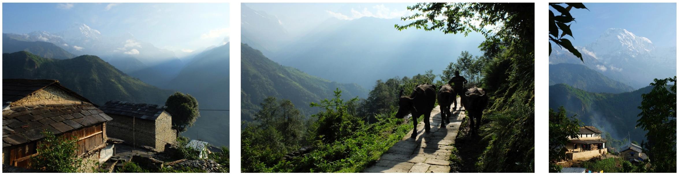 Gandruk, le village où il fait bon rêver