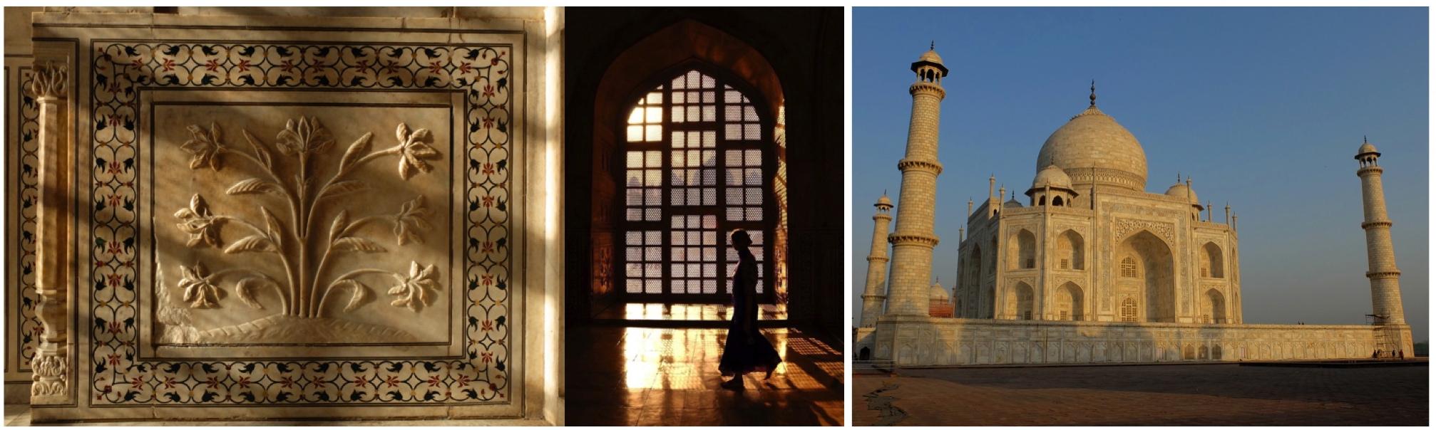 Inside Taj