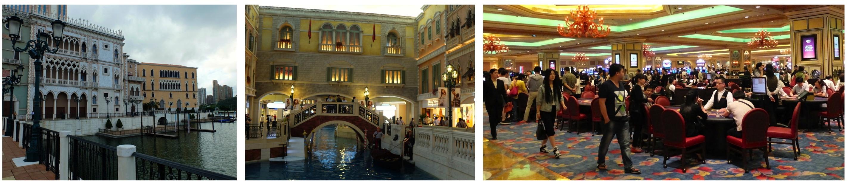 Las Vegas, Venise, ou Casino ? Faites vos jeux...