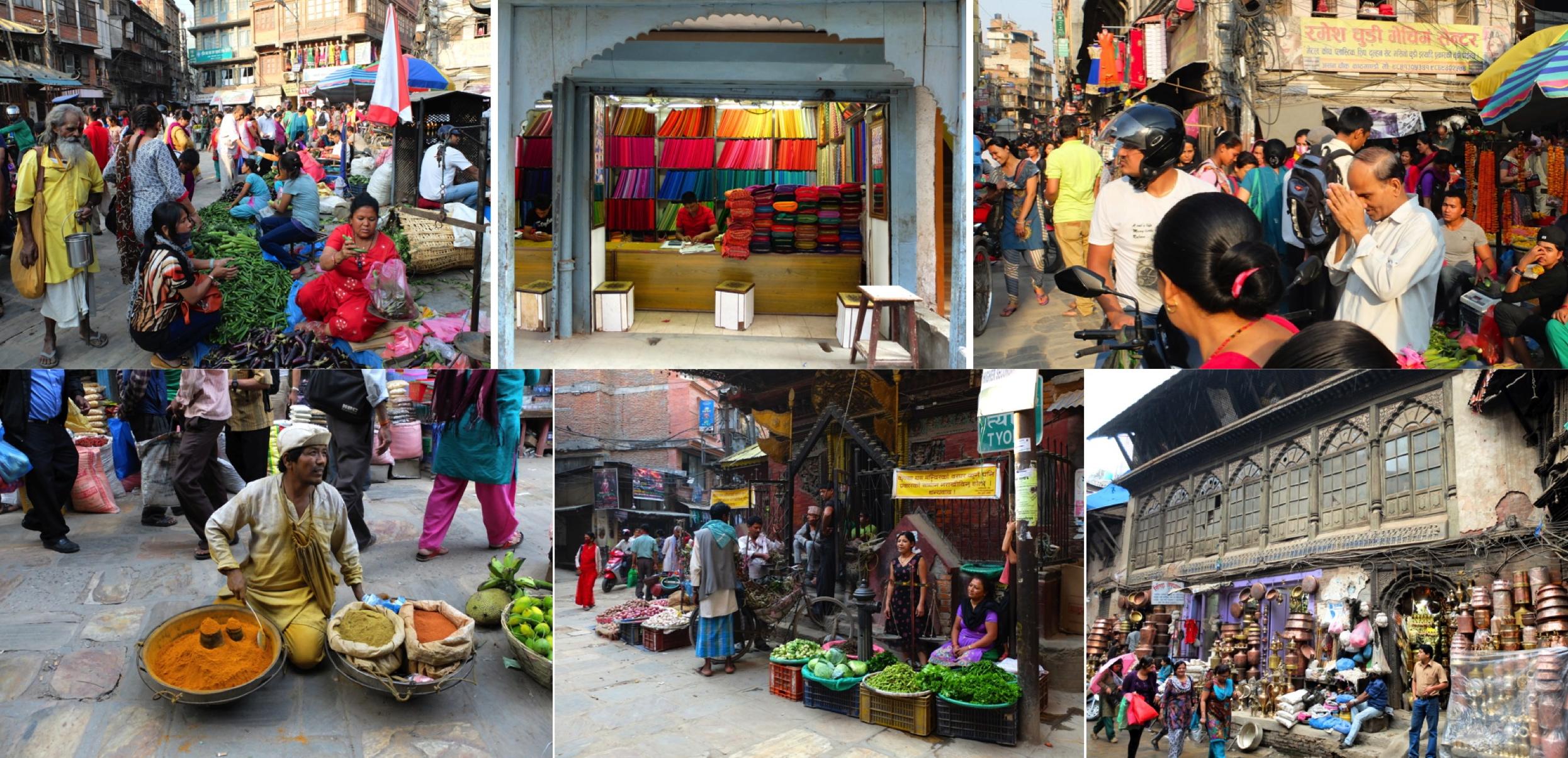 Les couleurs de Kathmandu