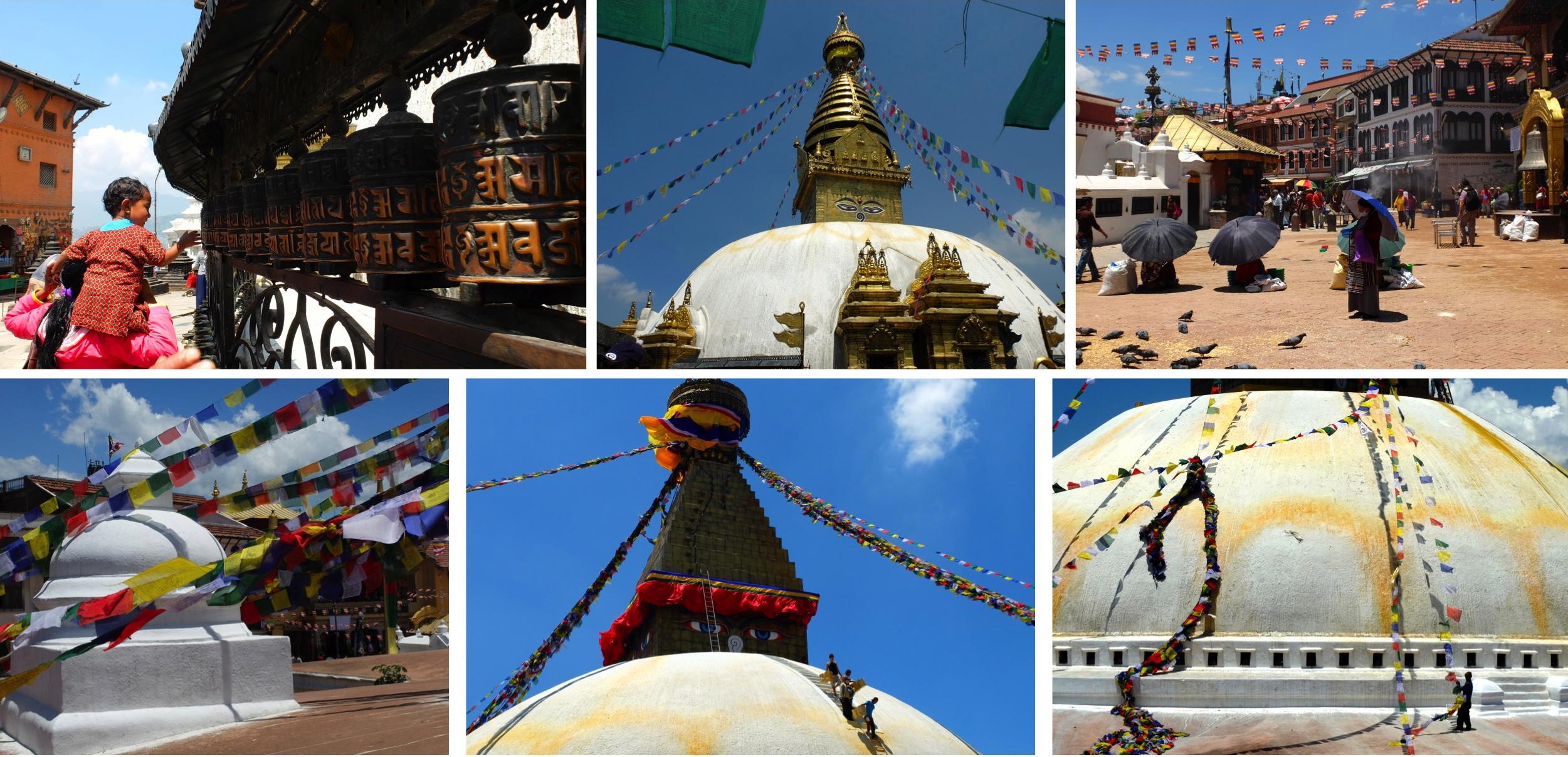 Stupas et stupas
