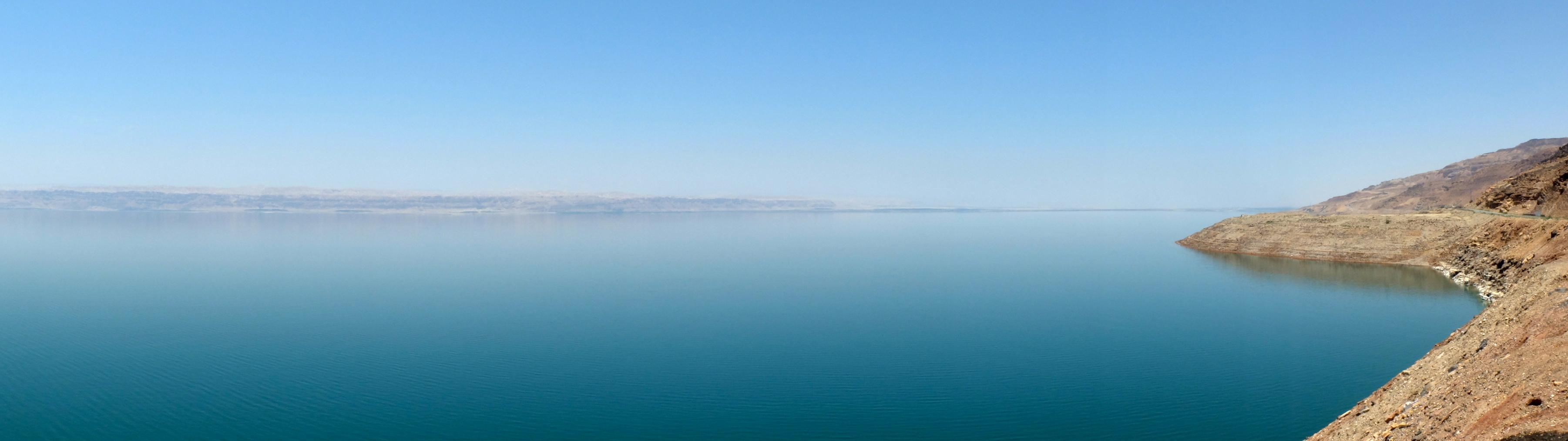 La mer morte, c'est grand