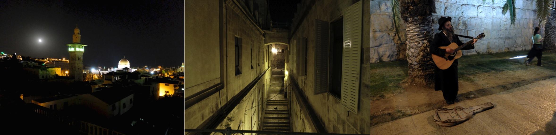 les rues la nuit